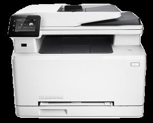 HP LaserJet Pro MFP M227fdn USB Printer Setup