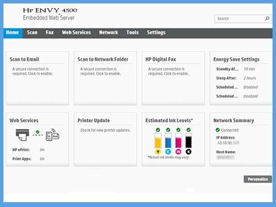 HP-Envy-7100-Embedded-Web-Server